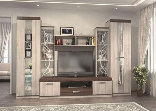стенка в гостиную в классическом стиле мебельная классика от