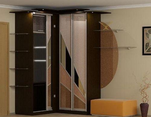 угловой шкаф купе в прихожую фото и каталог дизайн с размерами
