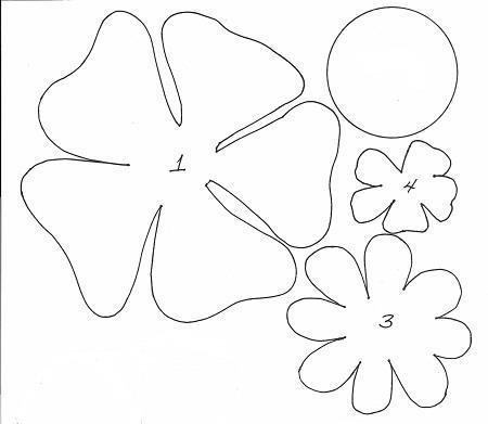 Выкройки цветов из фоамирана своими руками фото 22